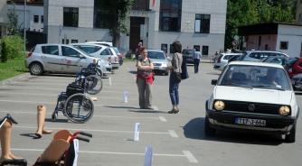 Protest invalida zbog krađe parking mjesta