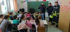 VJEŽBA EVAKUACIJE: Vatrogasci posjetili đake u područnim školama